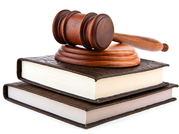Law Gavel and Books